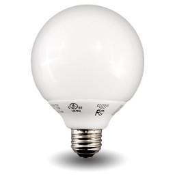 Globe Compact Fluorescent - CFL - 9watt - 27K