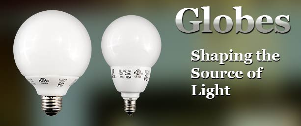 Buy Globe Compact Fluorescent Light Bulbs