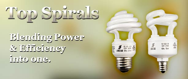 Buy Top Spiral Compact Fluorescent Light Bulbs